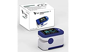 DR VAKU® DS301 Swadesi Finger Tip Pulse Oximeter, Multipurpose Digital Monitoring Pulse Meter Rate & SpO2 with OLED Digital Display [With 2x AAA Battery]