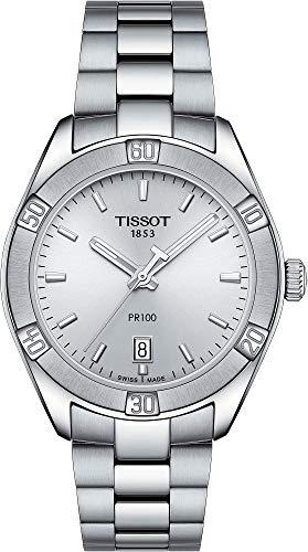 Tissot PR 100 Herren-Armbanduhr 36mm Armband Edelstahl Batterie T1019101103100