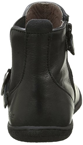 Kickers Cadmium, Bottes Classiques Fille Noir