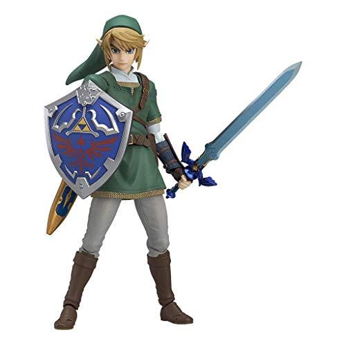 Yingjianjun La Leyenda de Zelda Twilight Princess Link Figma Figura de acción (Aproximadamente 5,5 Pulgadas)
