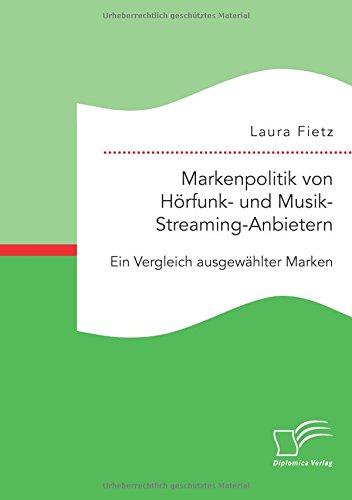 Markenpolitik von Hörfunk- und Musik-Streaming-Anbietern: Ein Vergleich ausgewählter Marken