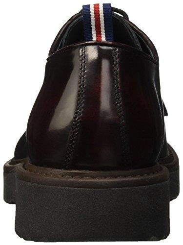 Docksteps Wells, Chaussures à Lacets Homme Rouge - Rosso (Bordeaux)