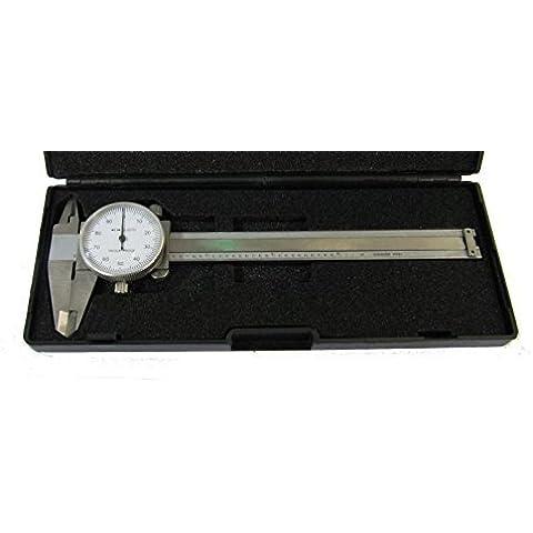RDGTOOLS IMPERIAL DIAL CALIBRADOR VERNIER 0-10, 2 cm