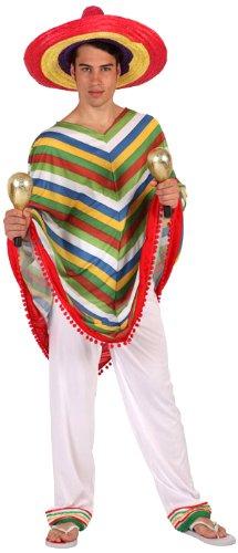 Imagen de atosa  disfraz de mejicano para hombre, talla xxl 12324