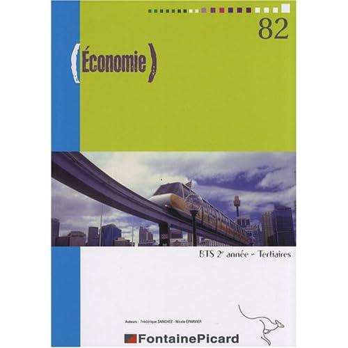 Economie BTS tertiaires 2e année