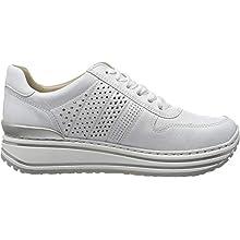 ARA Women's Sapporo Low-Top Sneakers, White (Weiss 07), 6 UK