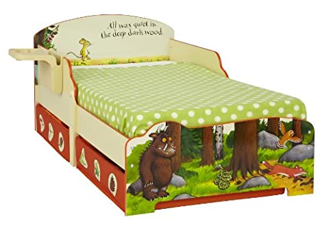 The Gruffalo Kids Toddler Bed with Underbed Storage by HelloHome