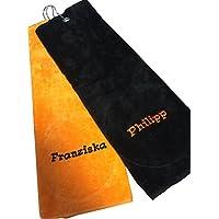 Bear Dream Golf-Handtuch | Golftuch | Bestickt mit Deinem Namen | 45x45 cm