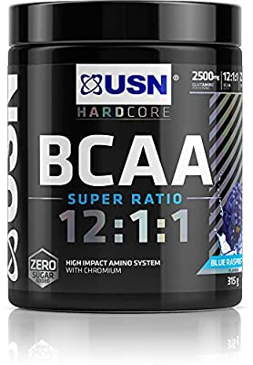 USN BCAA 12:1:1 Super Ratio 315g Branch Chain Amino Acids BCAAs Amino GRO from Ultimate Sports Nutrition