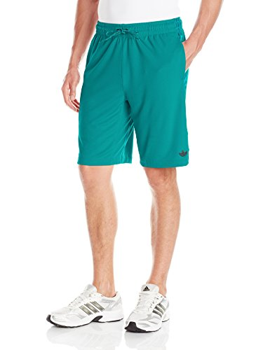 adidas Originals Mens Sport Luxe 3 Stripe Shorts Equipment Green