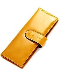 Brilliance Co Porte-Cartes Cuir Grande Capacité Pour 90 Cartes, Porte-Cartes de Crédit, Visite et Fidélité, Haute Qualité