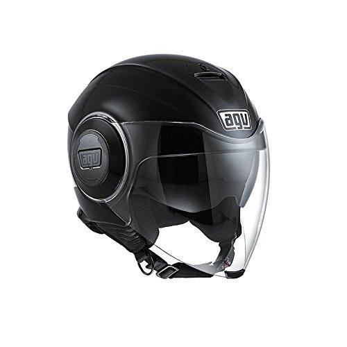 AGV Casco Fluid E2205, color Negro, talla 9
