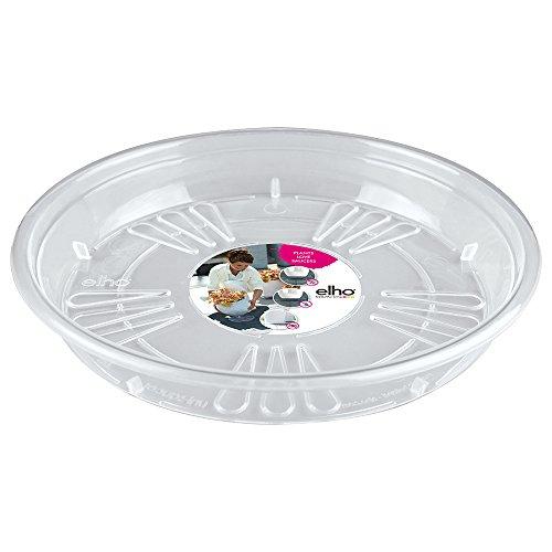 ELHO 6000302510000 Uni-Untersetzer rund, 25 cm, transparent