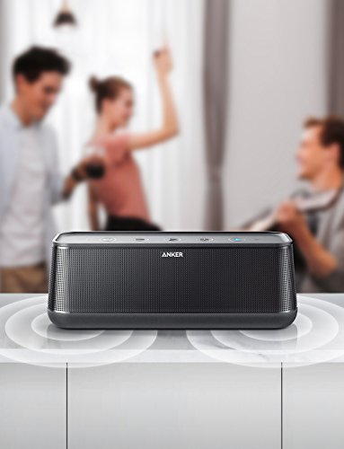 Anker SoundCore Pro+ Enceinte Bluetooth 25W avec Basses puissantes Enceinte Portable Bluetooth 4.2 avec 4 Drivers