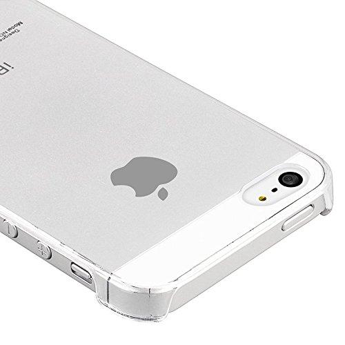ChannelExpert Clear Crystal transparent transparent Case Cover Schutz Hülle Handytasche Handyhülle Bumper Etui für iPhone 5 transparent