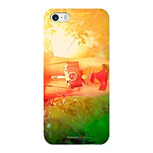 HomeSoGood Passion For Photography Vintage Multicolor 3D Mobile Case For iPhone 5 / 5S (Back Cover)