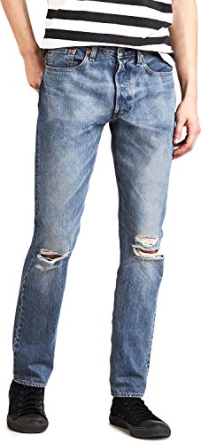 Levi's 501 skinny jeans single player warp