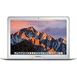 "Apple MacBook Air - Ordenador portátil de 13"" (Intel Core i5, 8 GB RAM, 128 GB, macOS Sierra), color gris - Teclado QWERTY español [España]"