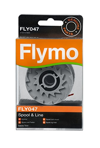 Flymo 510747890 Bobine simple fil sabre trim fly047 pour coupe-bordures