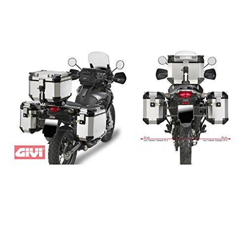 Seitenkoffer-Träger Stahlrohr für Trekke Max. Zuladung a 10 kg Honda