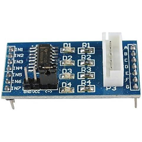 Controlador de motor de pasos Junta ULN2003 (por Arduino) (5V 4-Fase 5 línea)