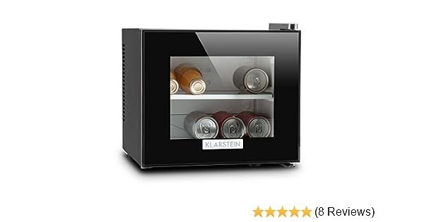 Minibar Kühlschrank 30 Liter : Klarstein frosty kühlschrank mit glastür u mini kühlschrank u mini