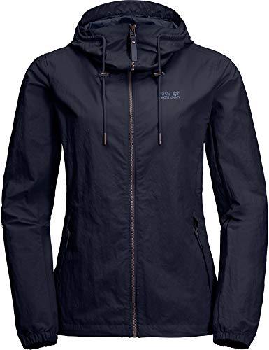Jack Wolfskin Damen Lakeside Sommerjacke, Midnight Blue, M