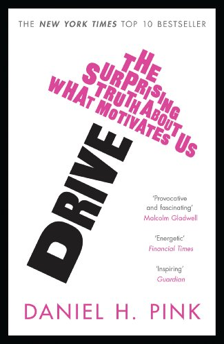 Buchseite und Rezensionen zu 'Drive: The Surprising Truth About What Motivates Us' von Daniel H. Pink