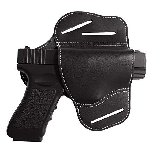 portacaricatore vega holster per pistola vari calibri beretta 92 98 fs glock 17 19 da cintura e cinturone Porta caricatore doppio portatile militare Sport e tempo libero Fondine