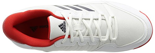 adidas Barricade Court OC, Sneakers Basses Mixte Adulte Multicolore (Ftwbla / Maruni / Rojbas)