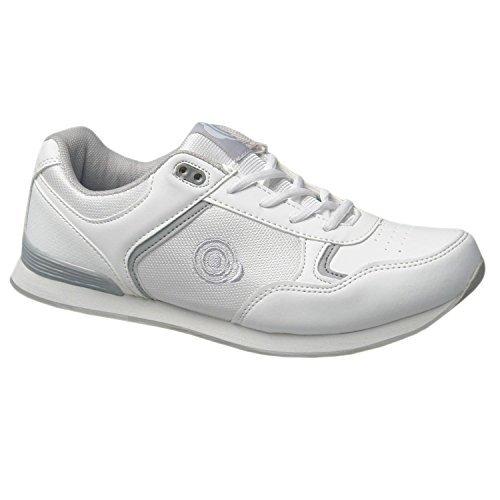Dek Drive & Jack Herren Bowling-Schuhe, Weiß - White - Lace up - Größe: 42