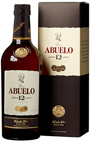 Abuelo Rum 12 Jahre (1 x 0.7 l) Bourbon Whisky Mini