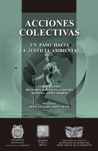 Acciones colectivas: Un paso hacia la justicia ambiental (Biblioteca Jurídica Porrúa) por Benjamín Revuelta Vaquero