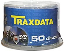 Traxdata DVD-R 50pk 4.7GB DVD-R 50pieza(s) - DVD+RW vírgenes (4,7 GB, DVD-R, 50 pieza(s), 120 min, Policarbonato, 120 mm)