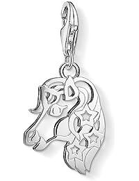 Thomas Sabo Women-Charm Pendant Soul Sisters Charm Club 925 Sterling silver 1316-001-12 3zWNJr