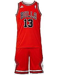 Conjunto Basketball Adidas NBA Mini-Kit Chicago Bulls Joakim Noah nº13 Para Niño / Adolescente