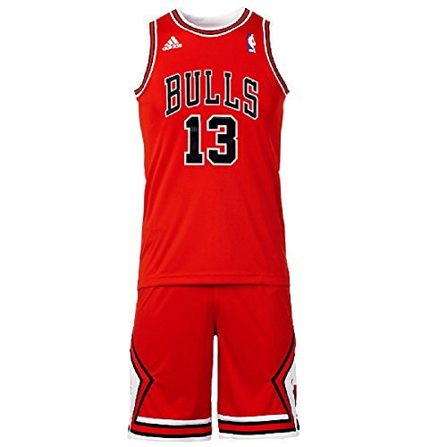 Mini-Kit Basketball Adidas NBA Chicago Bulls Joakim Noah nº1 Per Bambino / Adolescente