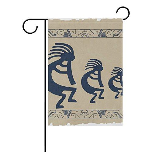 bennigiry Aboriginal Indianer Polyester Garten Flagge Banner 30,5x 45,7cm, Seasonal Garten Flagge Fahne Deko für Draußen für Hochzeit, Gesponnenes Polyester, mehrfarbig, 28x40(in)