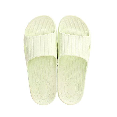 De Color Sólido Dintérieur Verdes Empezando Zapatillas Propicios Adultos Sandalias Cómodas Para XxPHYg