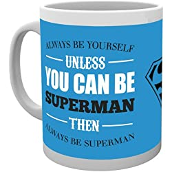 GB eye, DC Comics, Superman, Be Yourself, Taza