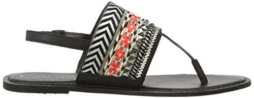 New Look Tribal Chunky Strap, Tongs femme Noir - Black (1)