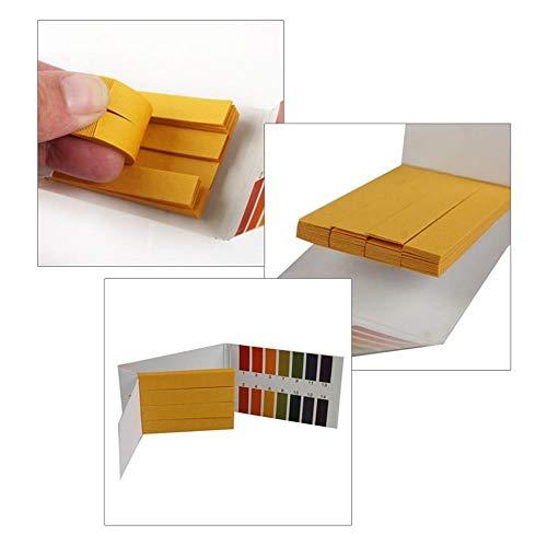 jumpeasy 3 * 80 Strips test kit vollständige reihe 240 streifen 1 14 ph wert papier alkalische nagelprobe saure wasser
