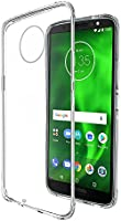 Amazon Brand - Solimo Moto G6 Mobile Cover (Soft & Flexible Back Case), Transparent