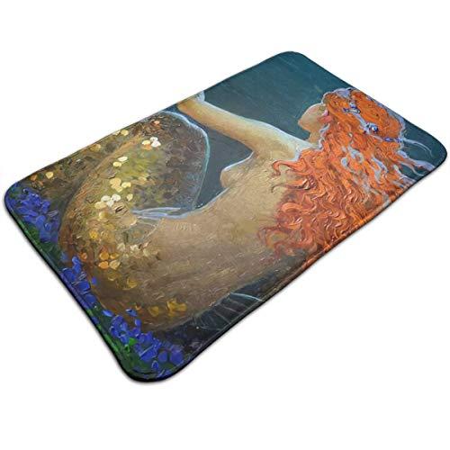 Dimension Art Merpeople Badvorleger, Memory-Schaumstoff, Rutschfest, saugfähig, super gemütlich, weich, 50 x 80 cm, Polyester, Merpeople 11, ()