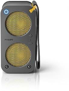 Philips Brix SB5200 Bluetooth Speaker - Grey