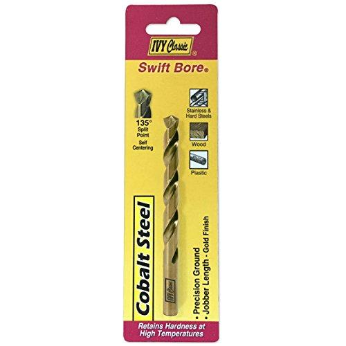 IVY Classic 04111 11/64-Inch Cobalt Steel Drill Bit, 135-Degree Split Point, 1/Card - 64 Split Point Drill Bit