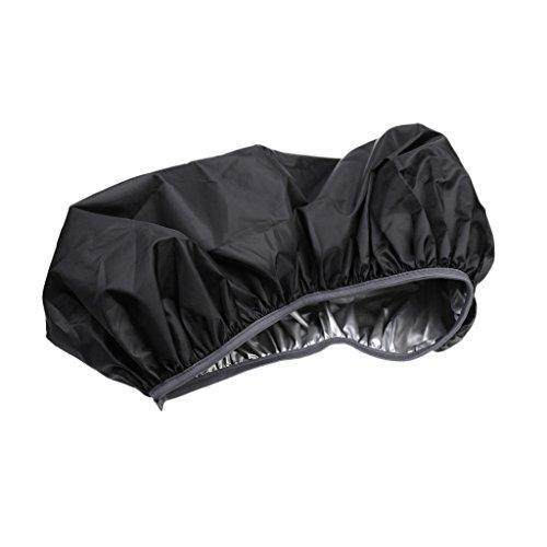 Gazechimp Rucksack Regenschutz Cover Rücksack Regenhülle Rucksacküberzug, Wasserdicht für Camping, Wandern und andere Outdoor Aktivitäten (Größe:35L - 80L) - Schwarz, M