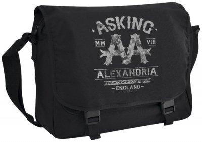 ASKING ALEXANDRIA???????????? BLACK LABEL???????? Messenger Bag???? .