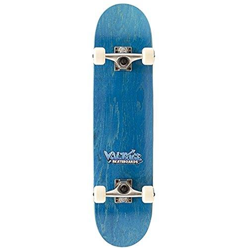 Voltage Graffiti Logo Complete Skateboard - Blue