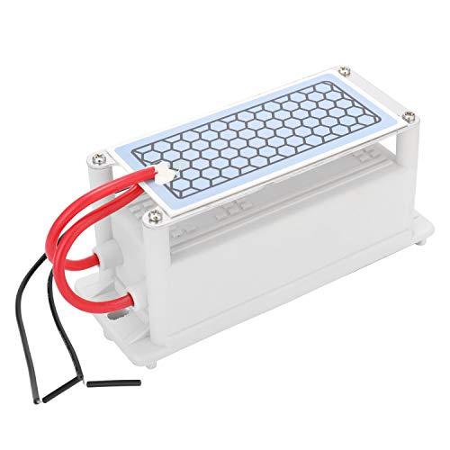 KKmoon 5g/h 10/g Generador de Ozono de Cerámica Portátil de Doble Placa Integrada,Ozonizador Purificador...